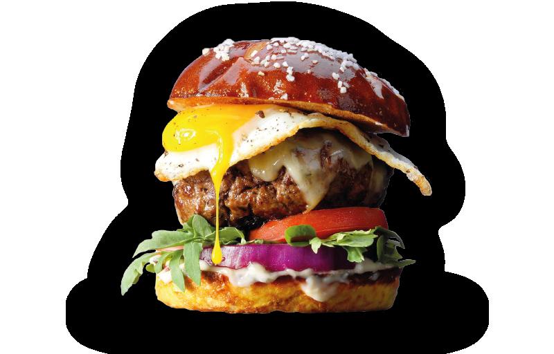 Eggs burger - Hamburgers - 16 Lab